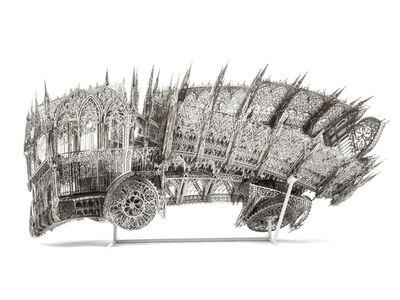 Wim Delvoye, 'Twisted Dump Truck (Counterclockwise)', 2013
