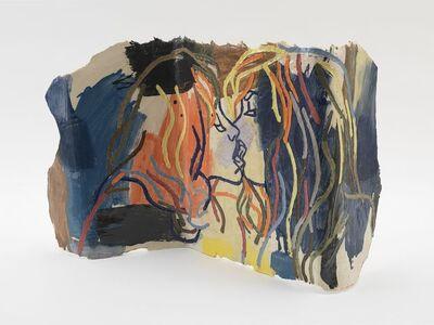 Ghada Amer, 'Paravent Avec Amour', 2015