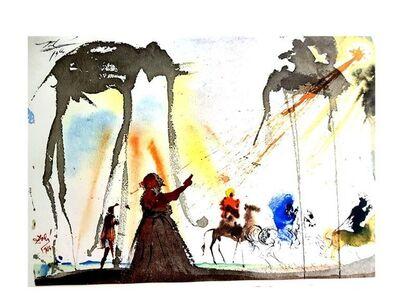 """Salvador Dalí, 'Lithograph """"The Biblia Sacra XIV"""" by Salvador Dali', 1969"""