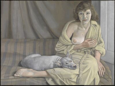Lucian Freud, 'Girl with a White Dog ', 1950-1951