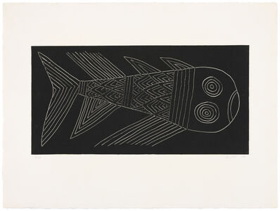 Judy Kensley McKie, 'Fish', 1988
