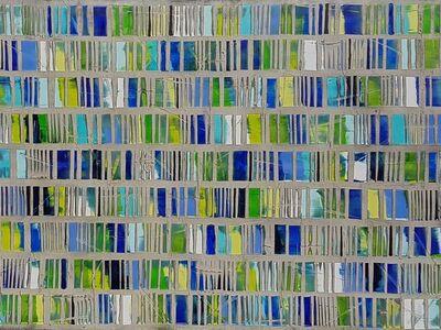 """Petra Rös-Nickel, '""""Happy watercolours"""". 120 x 150 cm  '"""