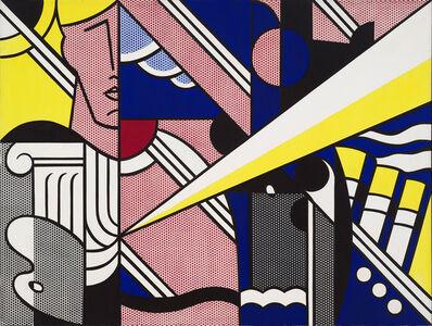 Roy Lichtenstein, 'Modern Painting with Ionic Column', 1967