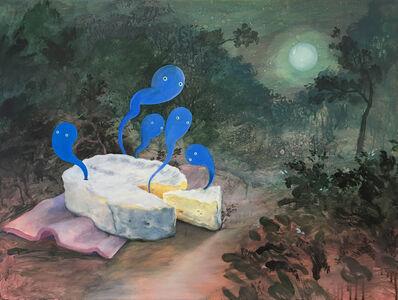 Wim Legrand, 'Midnight-blue-cheese', 2019