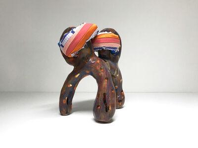 Ak Jansen, 'Ceramic and textile small sculpture: 'No. 15'', 2020