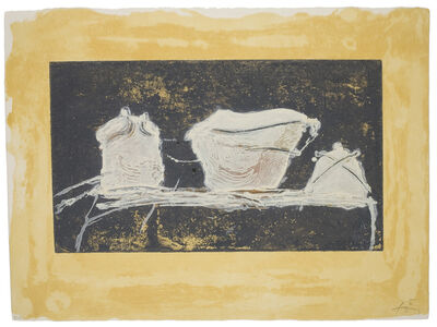 Antoni Tàpies, 'Vaisselle', 1984