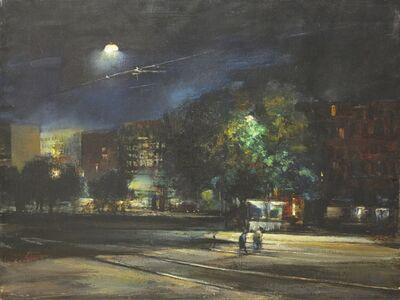 Renzo Vespignani, 'Rome at Night', 1951