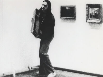 Ulay, 'Irritation - There is a Criminal Touch to Art ', 1976
