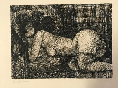 Marcel Gromaire, 'Nude Woman', 1930s