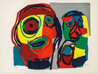 Karel Appel, 'Deux têtes', 1969