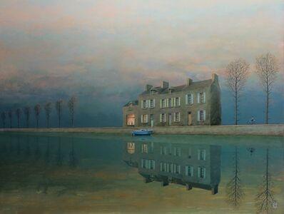 Philippe Charles Jacquet, 'Le peintre du canal', 2018