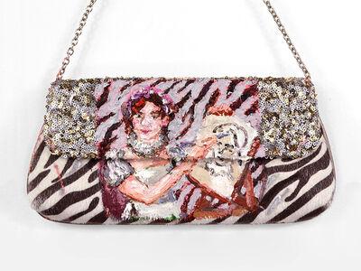 Annelie McKenzie, 'Affirmation Zebra Print Sequin Bag for Slaying (after Marie Ellenrider)', 2018