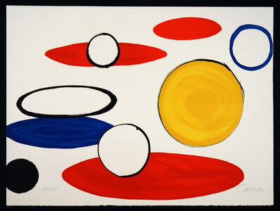 "Alexander Calder, '""Circles"" from Our Unfinished Revolution', 1975"