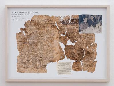 Jimmie Durham, '1948, series of 8 works', 2012
