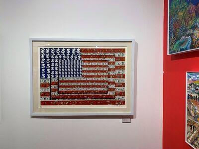 Emiliano Gironella Parra, ' Homenaje a Jasper Johns (Homage to Jasper Johns)', 2003