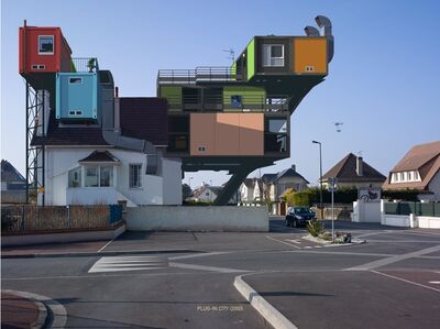 Alain Bublex, 'Plug-in City (2000) - Un weekend à la Mer (2) ', 2012