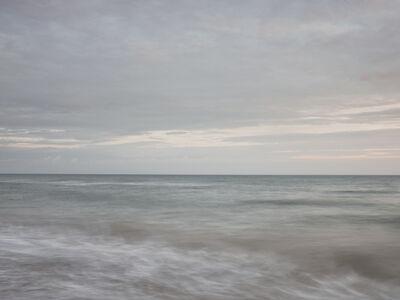 Donald Weber, 'Gold Beach - October 3, 2013, 7:12am. 16ºC, 100% RELH, Wind SSE, 9 Knots. VIS: Fair, Moderate Rain', 2013