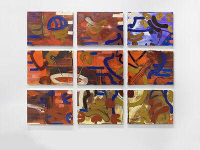 George Blacklock, 'Humanities (9 panels)', 2014