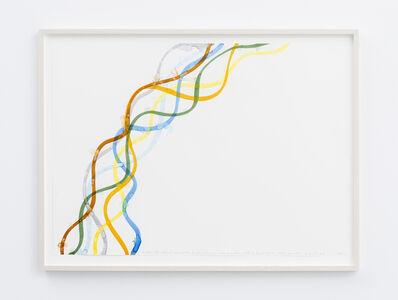 Spencer Finch, 'Gutter (Brooklyn) beer bottle, leaf, soda can, vitamin water, roll of duct tape, orange powder, yogurt lid', 2019