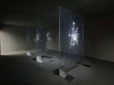 Zhao Zhao, 'Black Mirror - Constellations', 2021