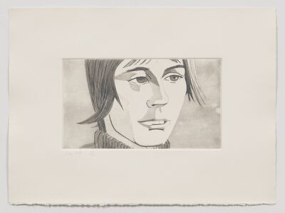Alex Katz, 'Yvonne (from June Ekman's Class)', 1972