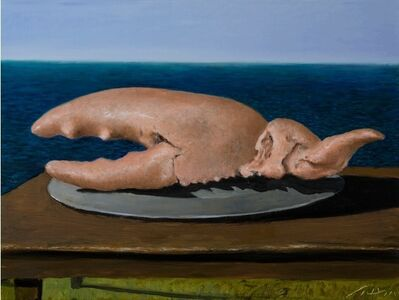 Julio Larraz, 'Catch from the Bay of  Mirrors', 2020
