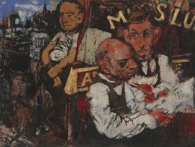 Jack Levine, 'Street Scene No. 1', 1938
