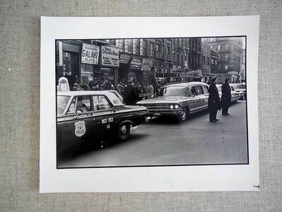 Fred W. McDarrah, 'Malcolm X Funeral Vintage silver gelatin gelatin photograph', 1960-1969