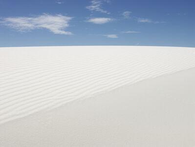 Josef Hoflehner, 'White Sands, Study 1, Dona Ana County, New Mexico', 2014