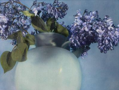 Brigitte Carnochan, 'Lilacs in Green Vase', 1999