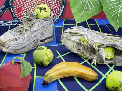 Daniel Gordon, 'Still Life with Tennis Balls and Racket, 2020', 2020