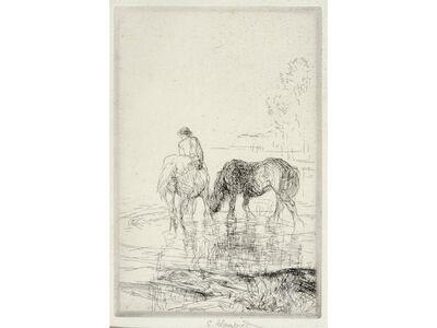 Edmund Blampied, 'The Cooling Stream', 1926