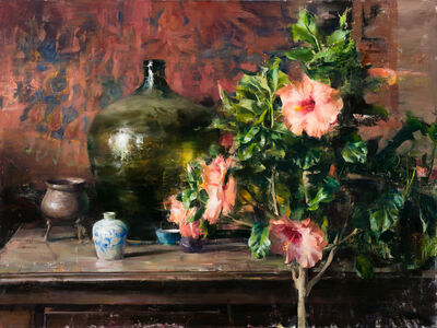 Quang Ho, 'Arrangmenet with Hibiscus', 2020