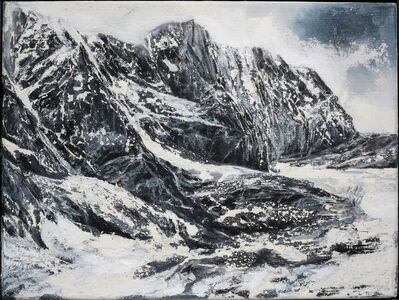 Jens Rausch, 'Erosionsgebirge', 2019
