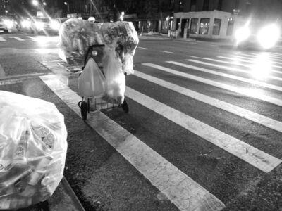 Shelia Horne, 'Recycling on Crosswalk', 2019