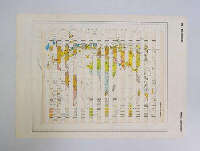 Daniel Medina, 'Mapas socioculturales III ', 2010