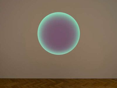 James Turrell, 'Yuya, Medium Circle Glass', 2020