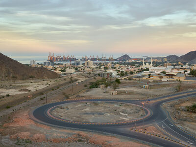 Philip Cheung, 'Roundabout, Khor Fakkan, Sharjah (UAE)', 2014