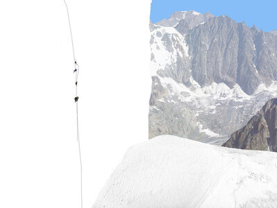 Olivo Barbieri, 'Alps #13'