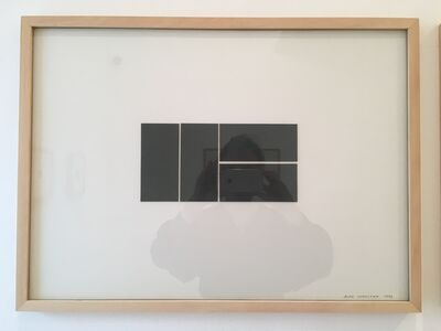 Alan Charlton, 'Canvas Drawing of Painting for Krefeld 4', 1992
