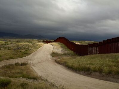 Richard Misrach, 'Wall, East of Nogales, Arizona/El muro, al este de Nogales, Arizona ', 2014