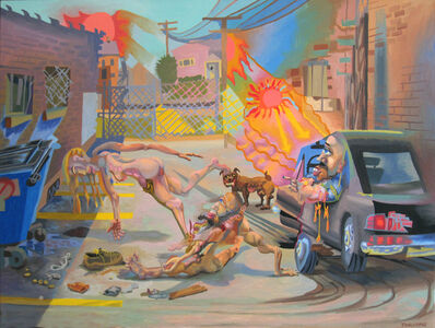 Tom Torluemke, 'Hot Summer In The City', 2010