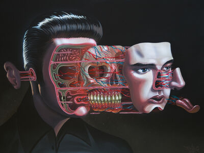 NYCHOS, 'Dissection of Elvis', 2016