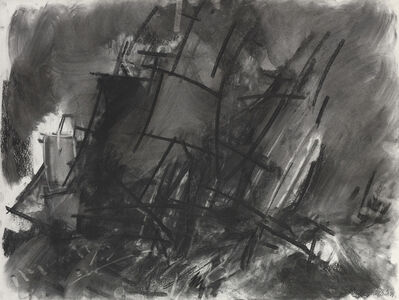 Dennis Creffield, 'Study of Turner with sailing ships II', 1994