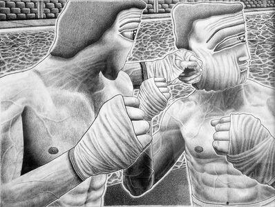 Samual Weinberg, 'First Punch Jiggle Face', 2017