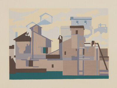 Charles Sheeler, 'Architectural Cadences', 1954