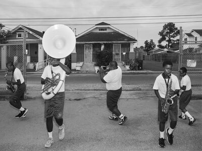 Alec Soth, 'St. Augustine High School Marching Band', 2015