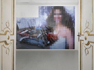 Thomas Hirschhorn, 'Pixel-collage n.78', 2016
