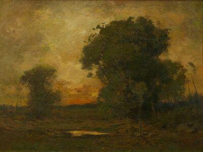 Alexander Van Laer, 'Sunset Trees', ca. 1900