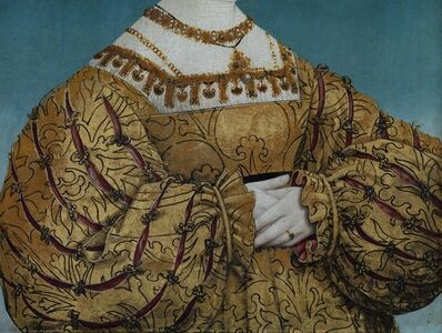 Reinhard Gorner, 'Detail From: Queen Anna of Bohemia and Hungary, Hans Maler, 1525', 2008